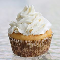 Whipped cream like frosting - known as the best frosting ever!