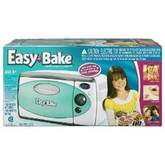 Became a chief with the Classic Easy Bake Oven