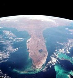 Satellite image of Florida