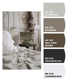 Paint Color SW 7027 Well-Bred Brown from ... | Home - Paint Colors