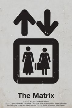 Pictogram movie posters by Viktor Hertz, via Behance