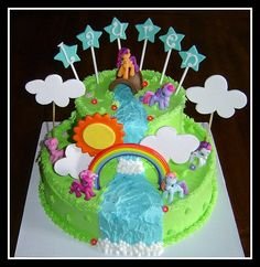 My Little Pony Birthday Cake... by It's All About the Cake, via Flickr