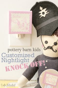 Diy Pottery Barn Kids Knock Off Nightlight