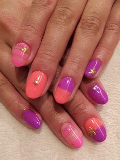 Pink, Coral, Lavender