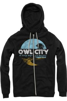 Owl City - All Things Bright and Beautiful Hoodie (Black) --WANT WANT WANT!!!!!!!!!!!!!