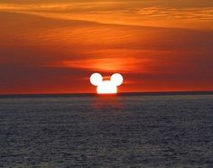 Mickey has apparently started his next theme park on the sun...
