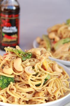 Szechuan Noodles with Broccoli