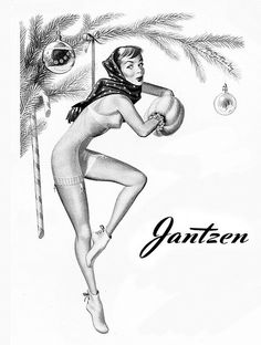 Jantzen, you are just an ornament after all.  with your hands in a muff.