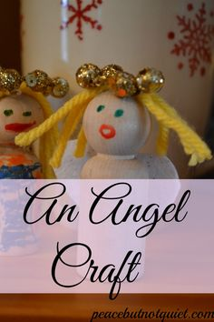 An Easy Angel Craft to do with kids!