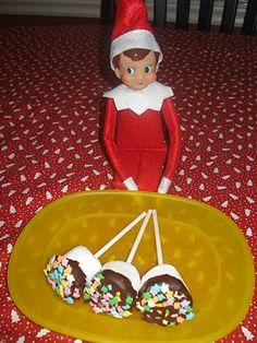 Elf makes treats