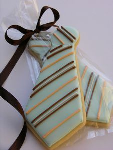 Galleta Decorada de Corbata  Tie Decorated Cookies