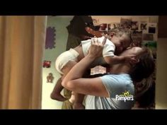 Pampers Disposable Diapers - More Kisses - Commercial - 2013 http://www.pampers.com/globalsplash