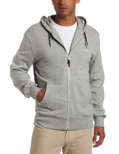 Fred Perry Men's Hooded Zip Through Sweater