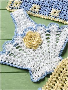 Crochet - Home on Pinterest Filet Crochet, Doily ...