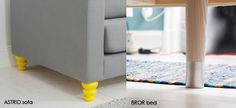Great idea. Clever product.  Replace your IKEA-legs with a set of Prettypegs and add some colour and playful elegance to the room.  Super easy to swap. Designed and produced in Sweden by PrettyPegs.
