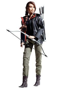 2012 Barbie, Hunger Games Barbie Doll $32.99
