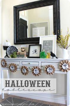 #halloween #trickortreat #holiday #decoration #inspiration #decor #diy #home #idea