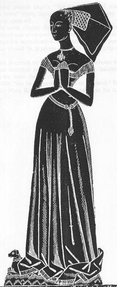 Elizabeth Seyntmour, 1475, Beckington, Somerset