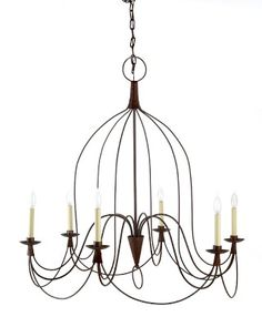 French Country Chandelier #WilliamsSonoma