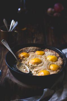 The Bojon Gourmet: Southern-Style Peach Cobbler with Maple Sugar, Bourbon + Brown Butter {Gluten-Free}