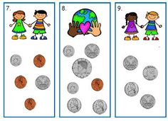 Here's a set of task cards for counting money. Recording sheet included.