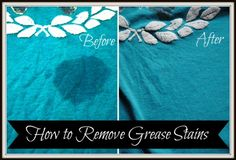 How To Remove Grease Stains | Health & Natural Living