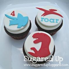 Dinosaur Party // Dinosaur Cupcakes