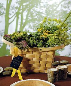 Large Decorative Picnic Basket-Wedding Centerpiece or Welcome Boxes, $8.38 EXTRA 20% OFF TODAY  #gardenwedding #picnicwedding
