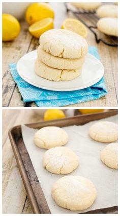 Chewy #Lemon Sugar Cookies…the BEST sugar #cookies!