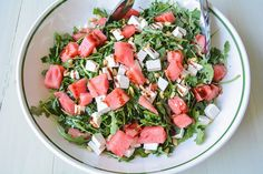 Arugula Salad with W