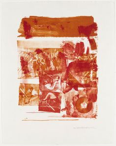 "Stunt Man III  Robert Rauschenberg (American, 1925–2008)    1962. Lithograph, composition (irreg.): 16 13/16 x 13"" (42.7 x 33cm); sheet: 22 3/4 x 17 5/8"" (57.8 x 44.8cm). Gift of the Celeste and Armand Bartos Foundation. © 2013 Robert Rauschenberg Foundation/Licensed by VAGA, New York, NY"