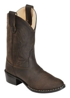 Old West Youth Distressed Ultra Flex Cowboy Boots - Sheplers