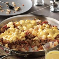 Skip's Scramble (replace ground beef with sausage in this recipe)