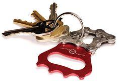Bottle Opener Keychain. For the guys.