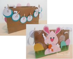 Stampin' Up!'s My Paper Pumpkin meets the Easter Bunny by Melissa Davies @ rubberfunatics