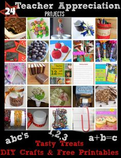 24 Teacher Appreciation Day Ideas from Crystal & Co Readers