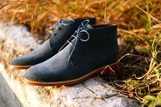 A.P.C. Suede Chukka #menswear #style #footwear