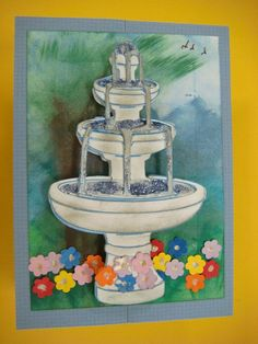 Carolyn's Creative Corner: Spring Cottage Birthday ZPlus Card
