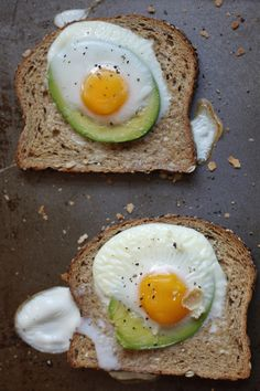 Get your ovens ready! Eggvocado Toast is for breakfast. #recipe #recipe #breakfast #food #recipes