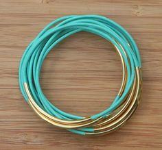 turquoise bangles
