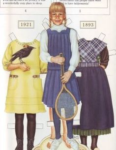 I almost forgot....paper dolls in the American Girl Magazine