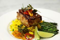 Grilled California Yellowtail - By Chef Raymond Reyes