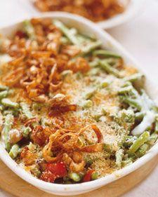 Green bean casserole- no canned soup