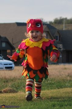 Baby Owl - DIY Halloween Costume