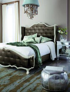 Horchow bedroom...divine.