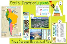Free South America Lapbook/Unit  #southamerica #homeschool #ihsnet
