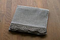 Linen towel by UniqueLinen on Etsy, $20.00