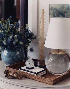 Epic Thomas O'Brien lamp and display [Dear Heart]