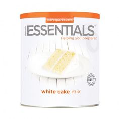 White Cake Mix 65 oz