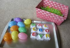 Alphabet For Starters- Easter Egg Letters - No Time For Flash Cards